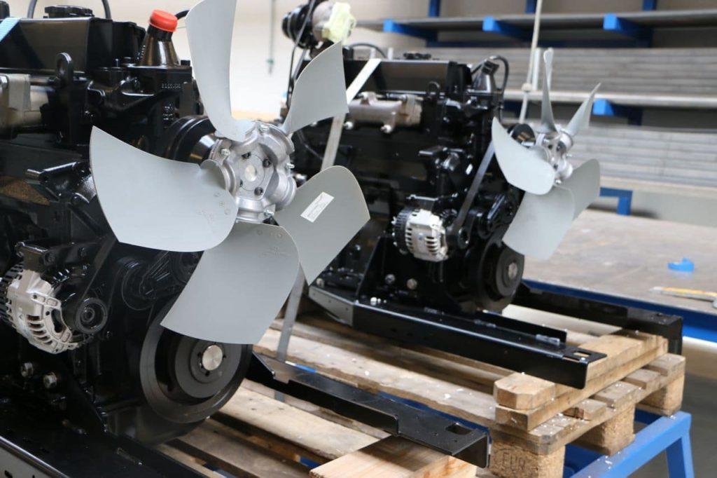 fabrication stock moteurs