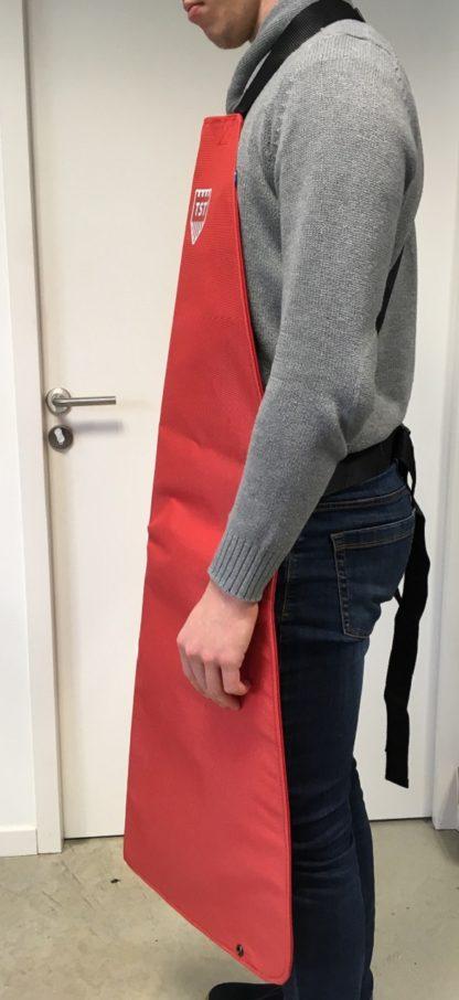 confort tablier grace au design des bretelles