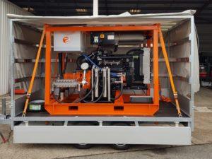 Décapeur UHP 2500 bars diesel